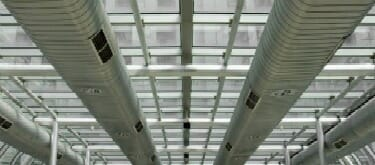 Air ducts in office