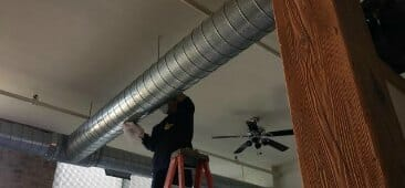 industrial duct cleaning