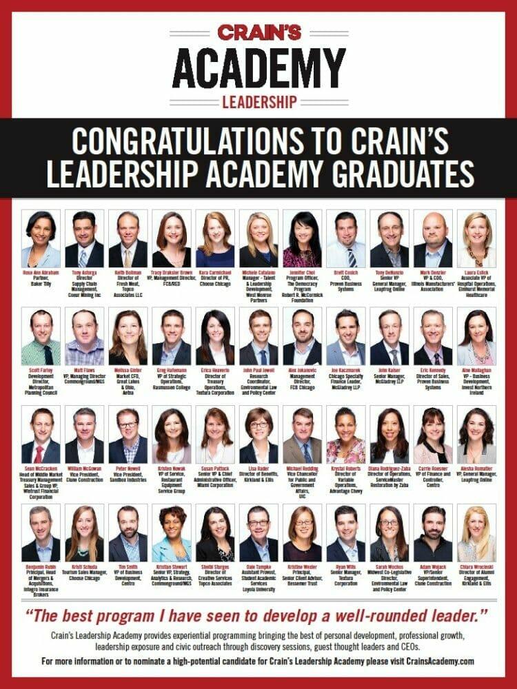 Diana Rodriguez-Zaba at Crain's Leadership Academy
