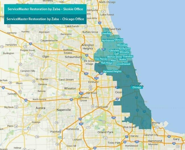 SMBZ service area map