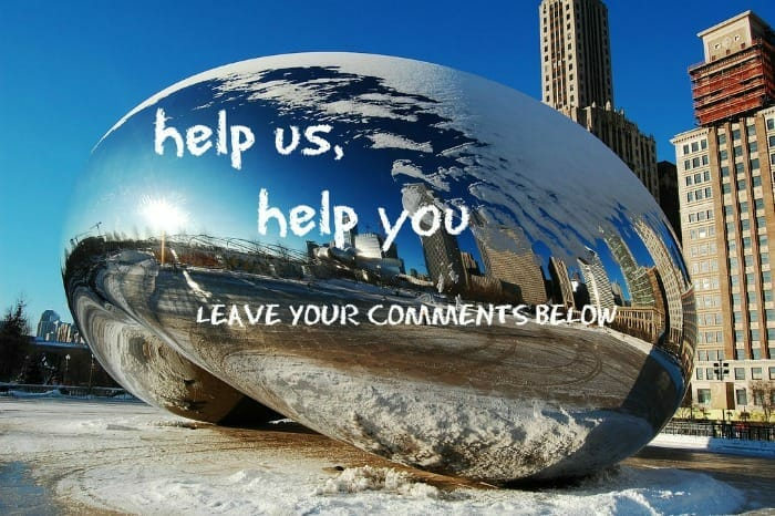 Leave your comments for winterizing guide on Chicago bean