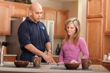tech in kitchen client