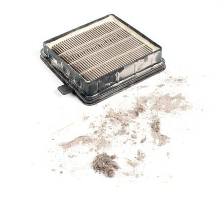 airco filter dirty