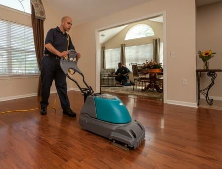 home cleaning service wood