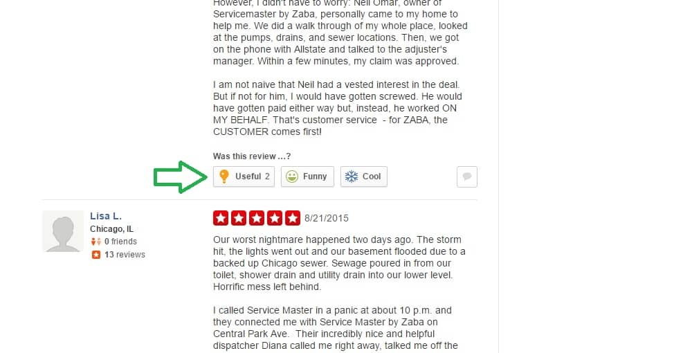 online review Yelp