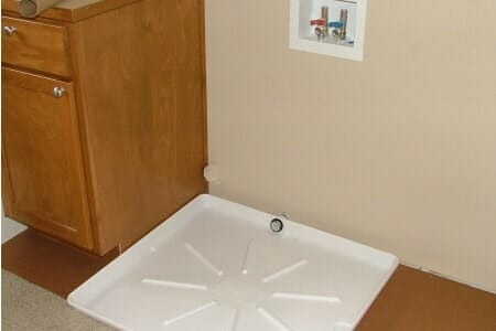 washing machine tray
