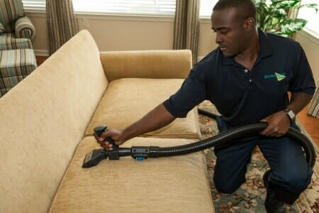 house cleaning upholstery expert