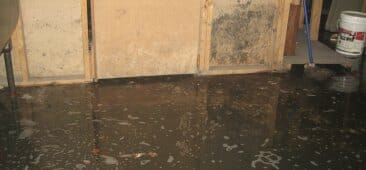 sewage water backup