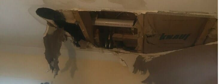 Ceiling Water Damage Repair Services for Chicago & Suburbs