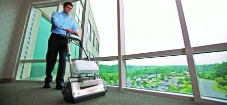 commercial carpet cleaning guy