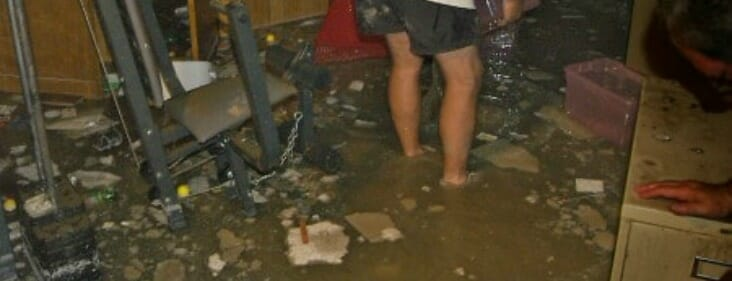 flooded basement in chicago
