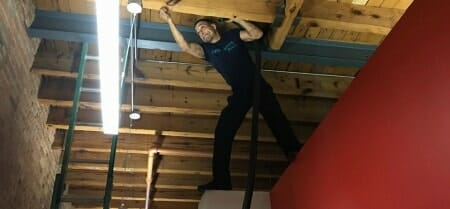 commercial cleaning expert ceiling