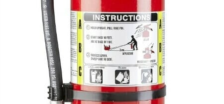 fire extinguisher classification