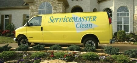 home cleaning truck estate