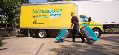 servicemaster water damage expert