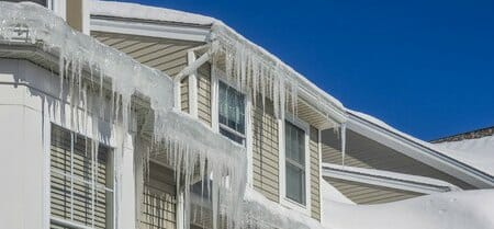 icicles on chicago house