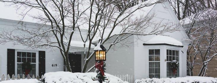 winter blizzard chicago