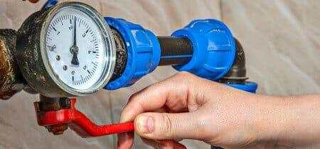 shut off water valve