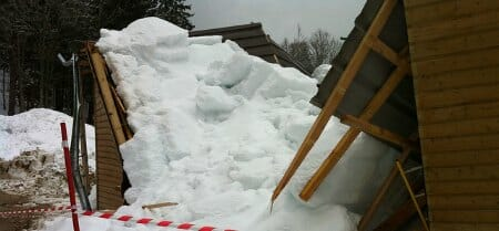 roof collapse house