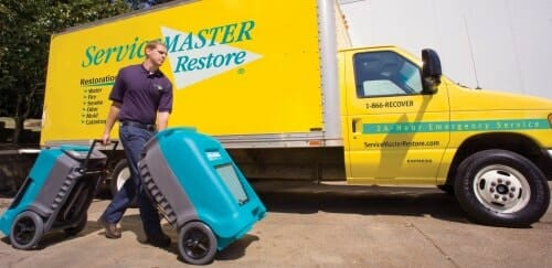 ServiceMaster Chicago technician