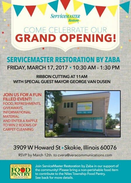 servicemaster skokie grand opening