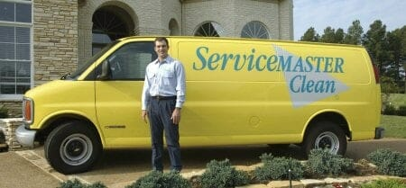 servicemaster cleaning truck