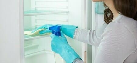 spring cleaning fridge