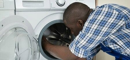 washing machine inspection