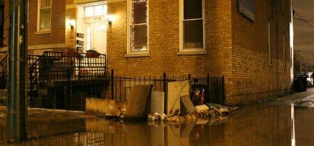 chicago neighborhood flooded