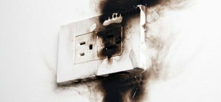 college dorm electrical fire