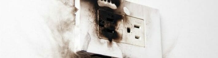 electrical failure power socket