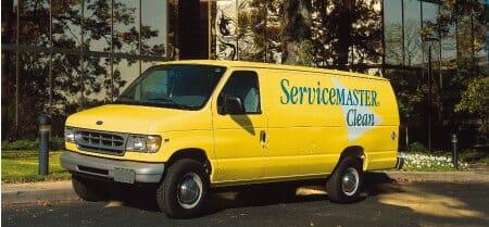 convenience cleaning van
