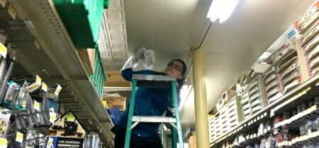 convenience store cleaning