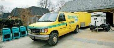 emergency service restoration van