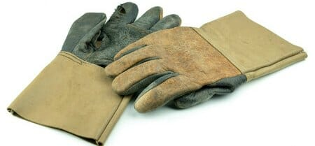 leather gloves for board up