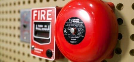fire prevention alarm at school