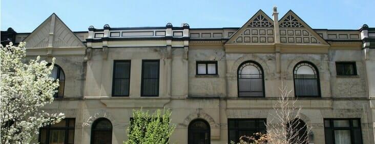 historic henry gerber house in chicago