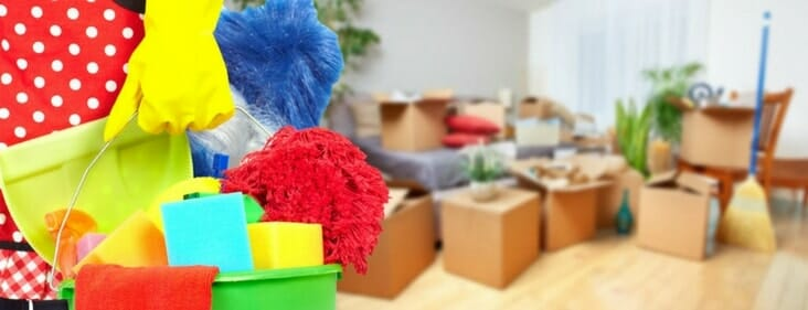 cleaning before selling house