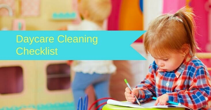 daycare cleaning checklist