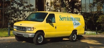 cleaning truck servicemaster