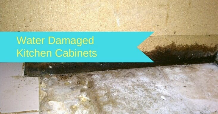 Kitchen Cabinets With Water Damage
