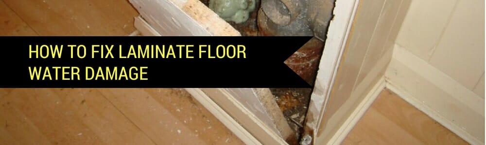 4 Simple Diy Steps To Repair Laminate Flooring Water Damage