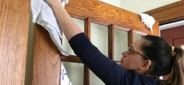 assisted living cleaning