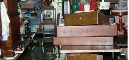 flood damaged items