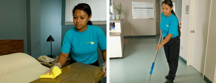 nursing home cleaning services
