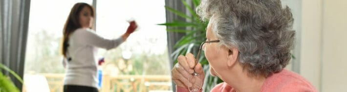 assisted living facility cleaning