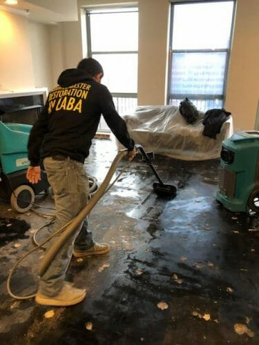 water damage cleanup chicago