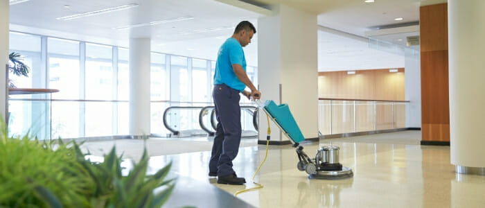 commercial business office cleaner