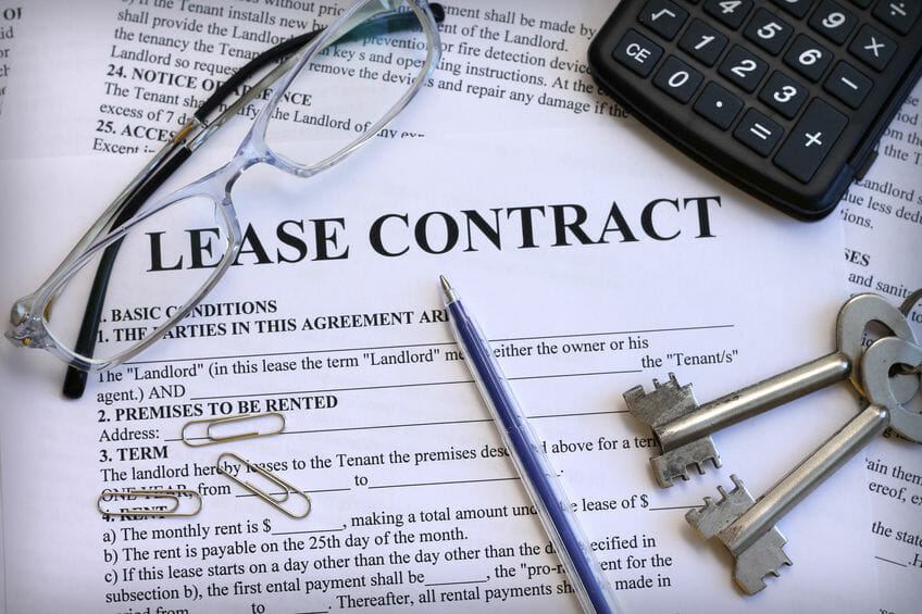 tenant lease contract chicago