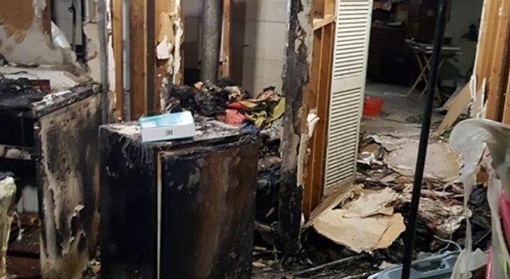 common cause of condo fire